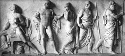 Aquiles y Patroclo - Mitología griega - Historia de la Homosexualidad
